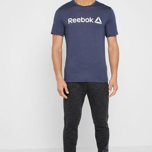 Reebok Men's Delta Logo Linear Read Tee
